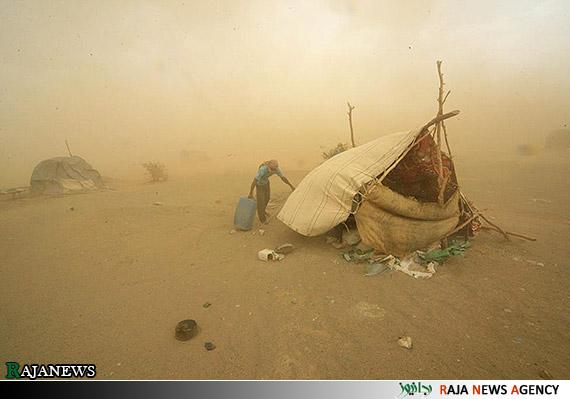 عکس زن طوفان خواننده