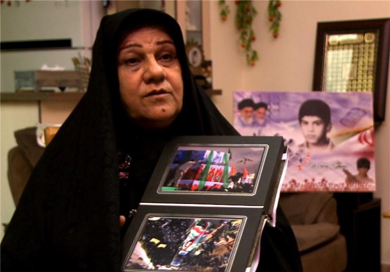فیلم: پاسخ مادر شهید محمدی به همه ی حاشیه های تدفین مجدد بهنام ...