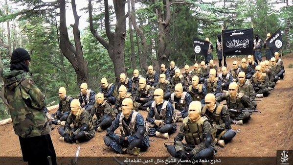 d عکس اردوگاه داعش در افغانستان