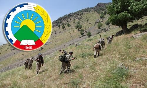 درگیری سپاه با تروریستها در مهاباد