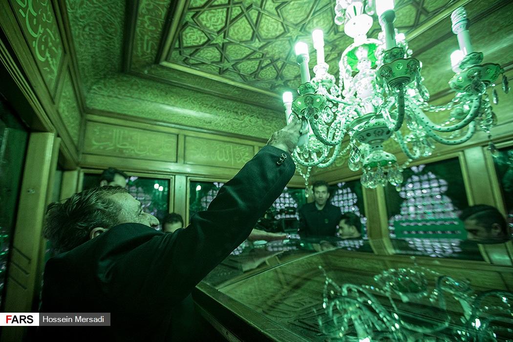 قیمت روز قطار رجا نوروز 96 غبار روبی ضریح مطهر حضرت عبدالعظیم حسنی (ع)   پایگاه اطلاع ...