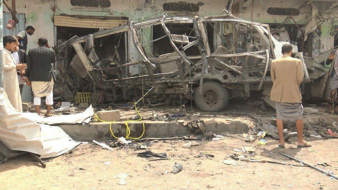 عربستان سعودی «روی جنایت» در یمن را سفید کرد! / آیا آلسعود میتواند برگزارکننده مراسم حج باشد؟+ عکس