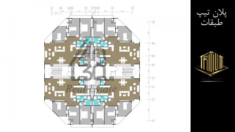 پیش فروش پروژه برج های تریتیوم ( الماس غرب ) اطراف دریاچه چیتگر در منطقه 22