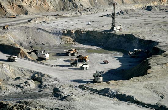 تصاویر معدن مس سرچشمه رفسنجان