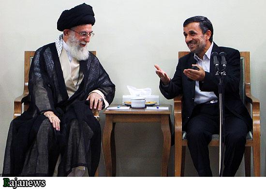 نتیجه تصویری برای احمدی نژاد رهبر