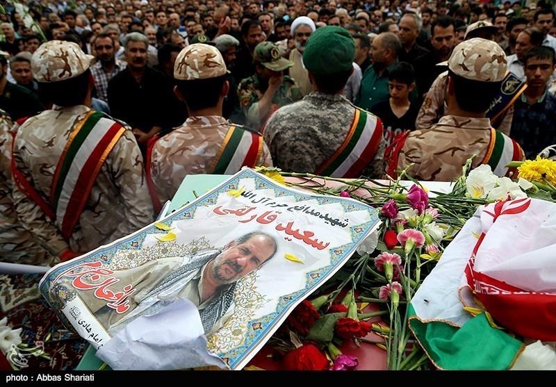 تصاویر/ تشیع پیکر شهید مدافع حرم در کرج