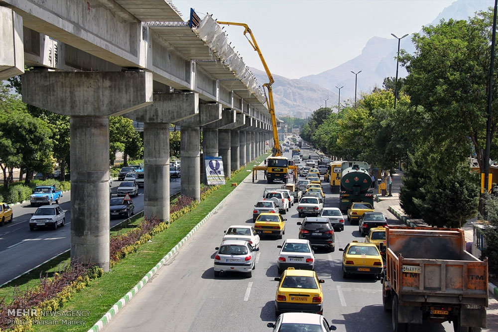 عکس: بلا تکلیفی منوریل استان کرمانشاه