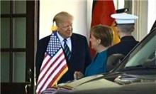 صدر اعظم آلمان برای اولین بار با دونالد ترامپ، رئیسجمهور آمریکا دیدار کرد.