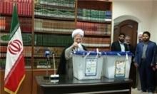 آیتالله جوادی آملی از اساتید برجسته حوزه علمیه در انتخابات شرکت کرد.