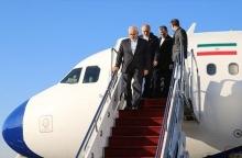وزیر خارجه جمهوری اسلامی ایران صبح امروز وارد مسکو پایتخت روسیه شد.