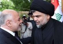 حیدر العبادی نخست وزیر عراق تلفنی با مقتدی صدر رهبر جریان صدر گفتوگو کرد.