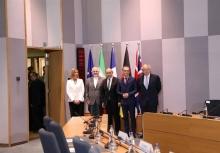 در پایان نشست دیروز در بروکسل بیانیه مشترکی منتشر شد.