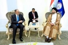 «سید عمار حکیم» رئیس جریان حکمت ملی عراق با سفیر ایالات متحده آمریکا در بغداد دیدار و گفتگو کرد.