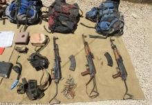 اولین تصاویر از تروریستها و تجهیزات همراهشان در درگیری با رزمندگان نیروی زمینی سپاه منتشر شد.