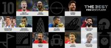 اسامی 10 نامزد نهایی کسب عنوان بهترین بازیکن سال فیفا اعلام شد.