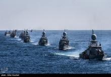 رزمایش سپاه پاسداران انقلاب اسلامی در خلیج فارس و تنگه هرمز برگزار شد.