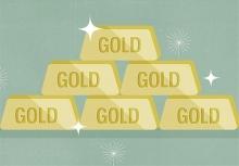 قیمت هر اونس طلا امروز با ۰.۳۳ درصد افزایش به ۱۲۳۱ دلار و ۱۹ سنت رسید.