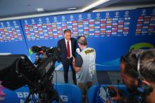 سرمربی تیم ملی فوتبال ایران گفت: برای برد وارد زمین می شویم و به نتایج قبلی کاری نداریم.