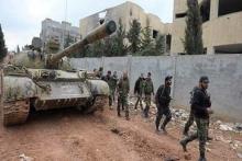 ارتش سوریه مواضع عناصر جبهه النصره را در حومه جنوبی ادلب هدف قرار داد.