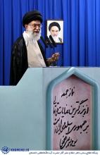 رهبر انقلاب اسلامی: «آمریکایی ها اسم موسوی را آورده بودند؛ گفته بودند اینها از ما هستند. من گفتم خیر. اینها از شما نیستند؛ من از طرف اینها از دشمنان نظام اعلام برائت کردم، اما خودشان این کار را نکردند!»