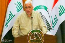 فالح الفیاض مشاور امنیت ملی عراق و رئیس حشدالشعبی گفت مرجعیت دینی و عشایر و حشد و پیشمرگه ما خاری در چشم دشمنان خواهند بود و ما از قانون اساسی و حکومت و هر نخست وزیری دفاع می کنیم.