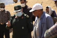 در آخرین روز از تصویربرداری سریال «ایلدا» جمعی از فرماندهان سپاه پاسداران لرستان در پشت صحنه سریال حضور یافتند.