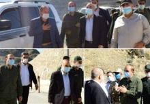 فرمانده کل سپاه از مناطق مرزی رود ارس و درگیریهای جنگ قرهباغ در مرز ایران با جمهوری آذربایجان و ارمنستان بازدید کرد.
