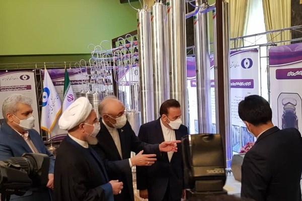 پیش از نیز رئیس جمهوری در نشست خبری مهرماه 98 خود با رسانه های داخلی و خارجی از سانتریفیوژهای پیشرفته IR9  رونمایی کرده بود.
