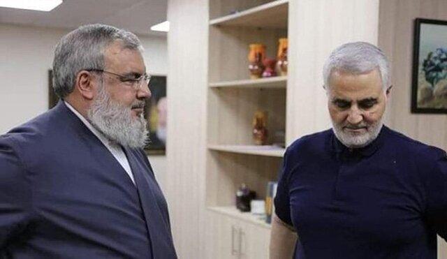 شیخ نعیم قاسم ، معاون دبیرکل حزب الله لبنان در این مستند تاکید می کند که تنها سید حسن نصرالله و یک مقام نظامی لبنانی از سفر شهید سلیمانی به بیروت خبر داشتند.