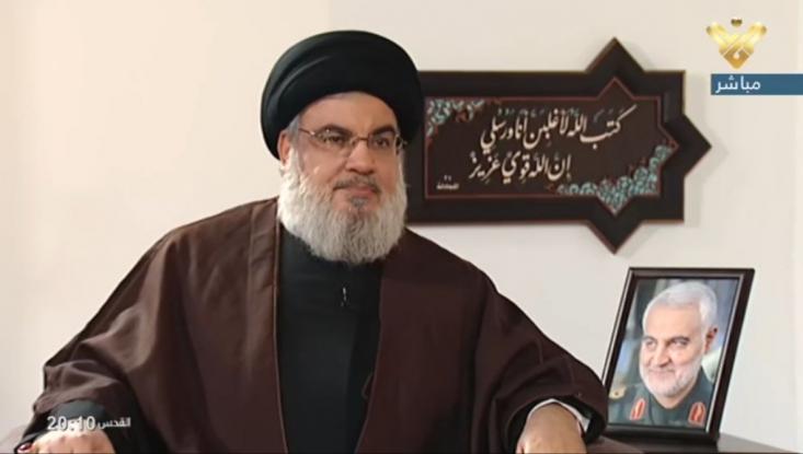 سید حسن نصرالله گفت که هدف قرار دادن رهبران و فرماندهان حزبالله هدف مشترک آمریکا و رژیم صهیونیستی است و درباره احتمال ترور وی نیز طی مدت اخیر هشدارها و تأکیدهای از سوی منابع صادر شد.