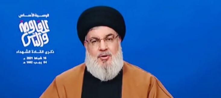 شب گذشته «سید حسن نصرالله» دبیر کل حزب الله لبنان به مناسبت روز شهادت فرمانده مقاومت، شهید «عماد مغنیه»، فرمانده میدانی نیروهای حزبالله سخنرانی کرد.