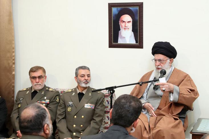 فرمانده معظم کل قوا بهمناسبت سالروز ارتش جمهوری اسلامی و حماسهآفرینیهای نیروی زمینی، پیامی صادر کردند.