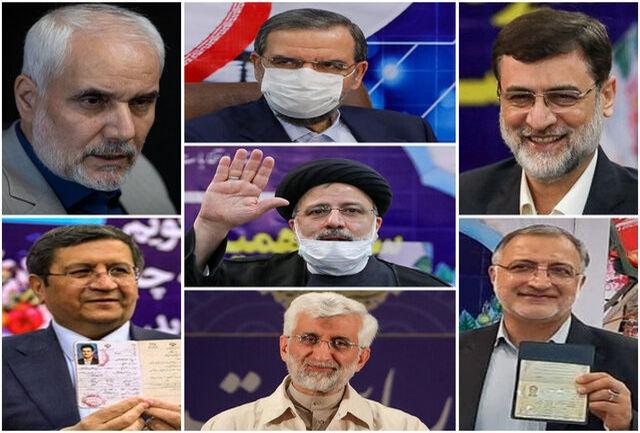 انتخابات سیزدهمین دوره ریاست جمهوری اسلامی ایران روز جمعه ۲۸ خرداد ۱۴۰۰ برگزار خواهد شد. شورای نگهبان در دو نوبت پنج روزه به بررسی صلاحیت نامزدهای داوطلبی پرداخت.