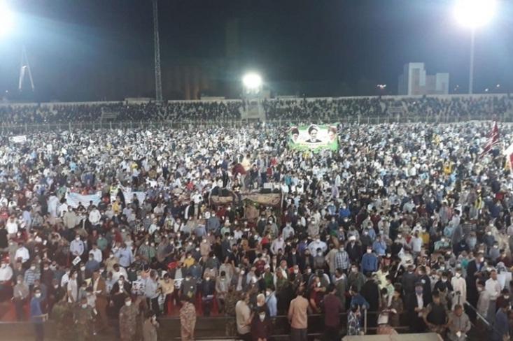نگاه سیاسی و سراسیمه بعد از تجمع بزرگ خوزستان باعث شده مسئولان متولی موضوع در عرض سه روز بیانیه های متناقضی صادر کنند و طی یک ساعت شب گذشته هم با انشاء دو بیانیه عجیب، رکورد گذشته را در این خصوص شکستند.