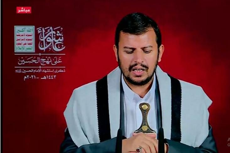 رهبر جنبش انصارالله یمن در سخنانی به مناسبت روز عاشورا گفت: گزینه ما هیهات منا الذله است. شکست آمریکا آشکار شده است.