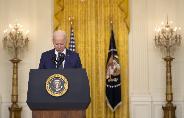 رئیس جمهور آمریکا در اولین سخنرانی خود بعد از پایان یافتن اشغال افغانستان، عملیات مفتضحانه خروج از این کشور را ماموریتی فوقالعاده خواند.