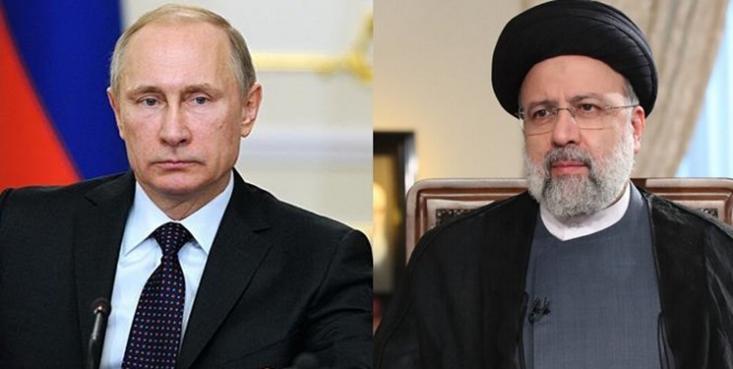 رئیس جمهور روسیه امروز سه شنبه در تماس تلفنی با آیت الله سیدابراهیم رئیسی،  با بیان اینکه به علت احتمال ابتلا به بیماری کرونا به قرنطینه رفته است، خواستار انجام هماهنگی برای دیدار دو رئیس جمهور در اولین فرصت شد.
