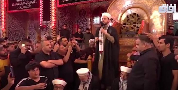 یکی از علمای مسجدالاقصی در سخنرانی خود گفت: کسی که میخواهد راه امام حسین (ع) را ادامه دهد، باید برای برقراری عدالت و برابری برخیزد. اما تا زمانی که اسرائیل وجود دارد، عدالت و برابری برقرار نخواهد شد.