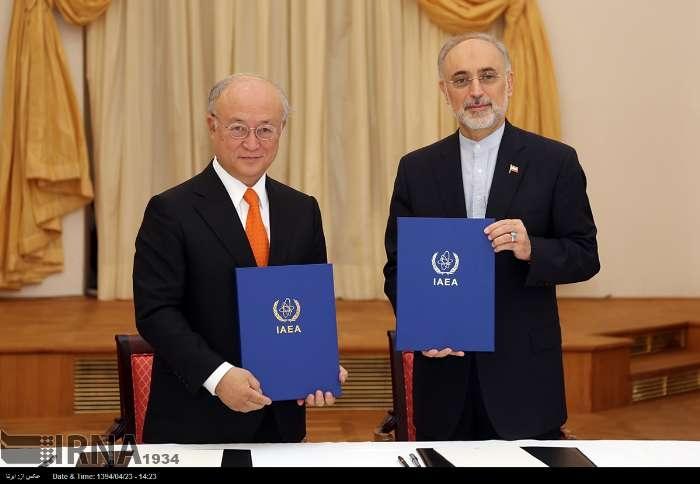 پس از آنکه آژانس بینالمللی انرژی اتمی سوالات در خصوص هرگونه ابهام در چنین اطلاعاتی را به ایران ارائه کرد، دیدارهای فنی-کارشناسی، تمهیدات فنی ومباحث آنگونه که در ساز و کار جداگانه مورد توافق قرار گرفت، برای رفع این ابهامات، در تهران صورت خواهد گرفت.