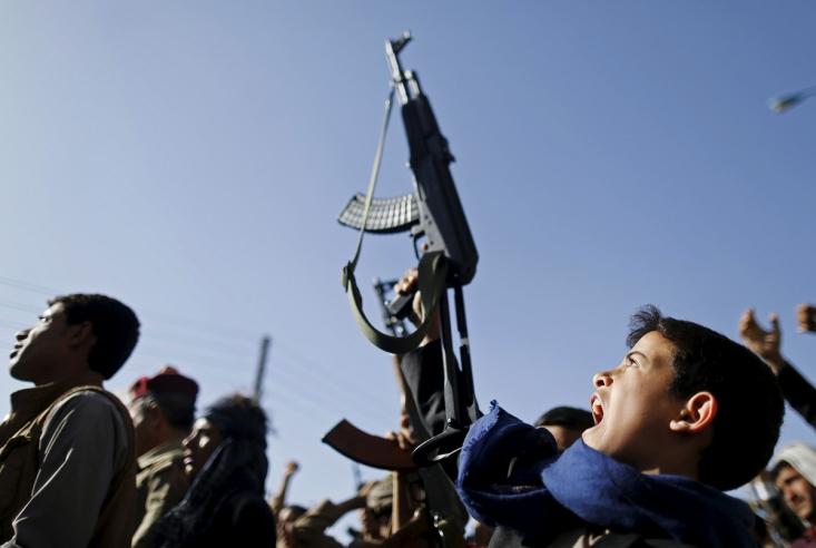 تظاهرات طرفداران  انصارالله