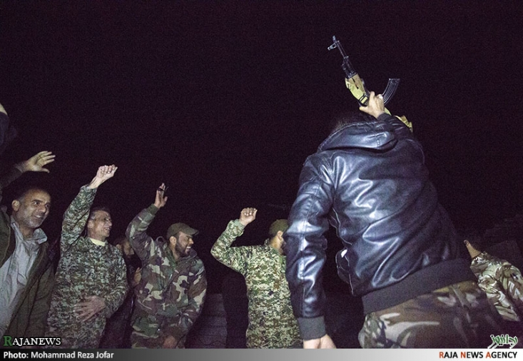 جشن بیست و دوم بهمن ماه در سوریه