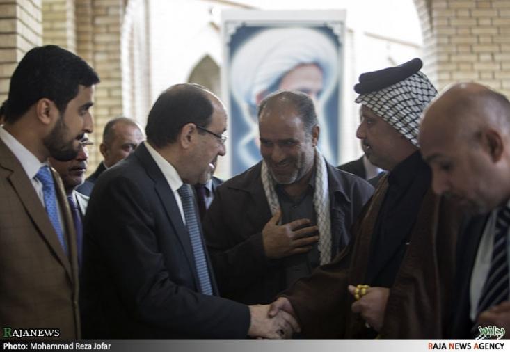 مراسم بزرگداشت شیخ نمر در بغداد
