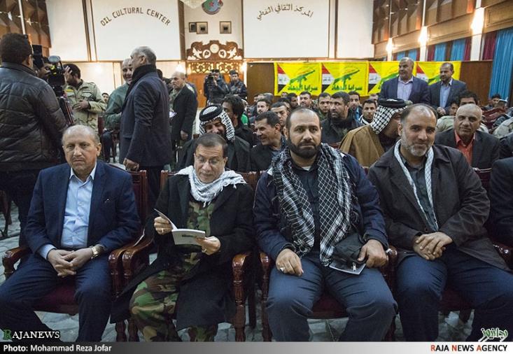 مراسم بزرگداشت حاج حمید تقوی در بغداد