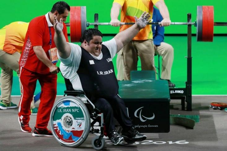 عضو تیم ملی وزنهبرداری ایران در پانزدهمین دوره بازیهای پارالمپیک با چهار با شکستن رکورد به ورزشکاری دست نیافتنی در این بازیها تبدیل شد و ششمین مدال طلای کشورمان را به گردن آویخت.