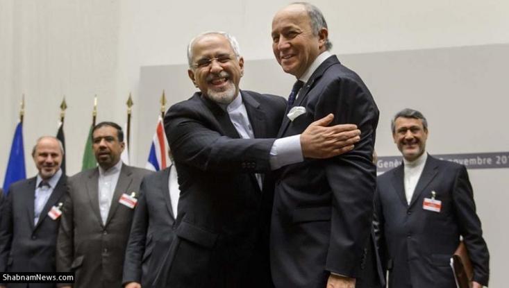 ه گفته فابیوس، ایران روز 24 جولای 2012 در نشستی در استانبول میان «هلگا اشمید» معاون مسئول سیاست خارجی اتحادیه اروپا و «علی باقری» معاون وقت آقای جلیلی، طرحی را ارائه کرده که بر اساس آن غنیسازی 20 درصدی ایران در قالب روندی 9 مرحلهای و به صورت تدریجی به حالت تعلیق درآمده و در مقابل باید تمام تحریمهای یک و چند جانبه علیه تهران برداشته میشد.