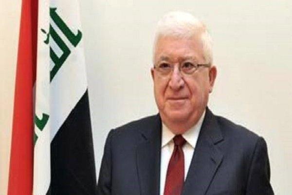 رئیس جمهوری عراق امروز قانون حشد شعبی را که اخیرا تصویب شده بود، امضاء کرد.