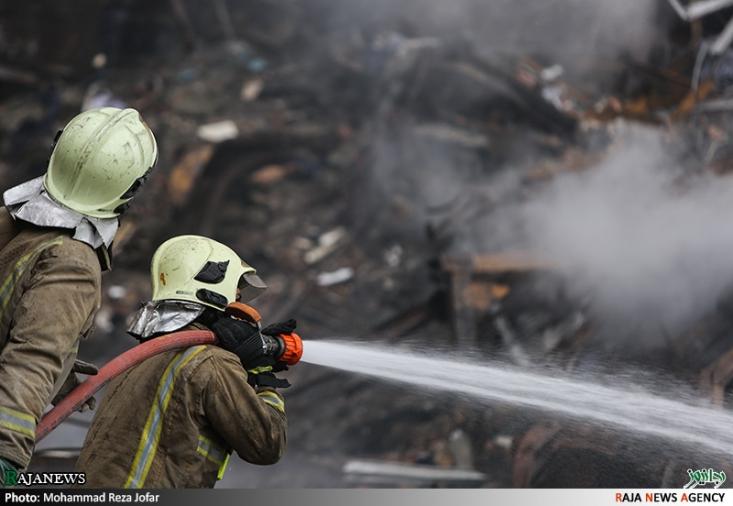 گزارش تصویری اختصاصی رجانیوز از عملیات امداد و نجات در ساختمان پلاسکو