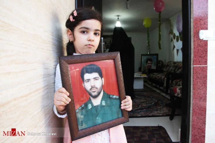 جشن تولد دختر شهید مدافع حرم