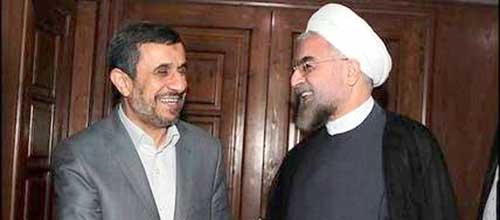 احمدی نژاد برای کمک به 8 ساله شدن دولت روحانی با تمام قوا به میدان آمد