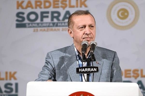 رئیس جمهوری ترکیه امروز در سخنانی از قطر در برابر شروط ۱۳ گانه کشورهای محاصره کننده دوحه حمایت کرد.